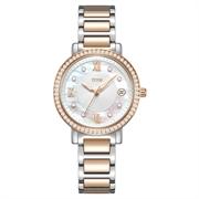 Fair Lady三针日期显示石英不锈钢腕表(W06-03200-002)