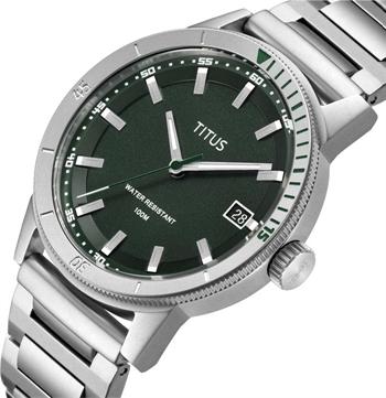 Nordic Tale三针日期显示石英不锈钢腕表(W06-03196-002)