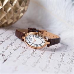 「天长地久」两针石英皮革腕表(W06-03207-002)